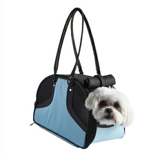 Roxy Dog Carrier by PETote - Turquoise and Black