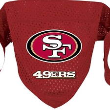 San Francisco 49ers Dog Bandana