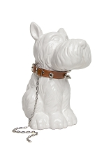 Scottie Dog with Studded Collar Bank
