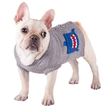 Shark Dog Cardigan