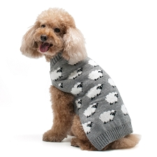 Sheep Dog Sweater- Grey