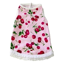 Shirley Cherry Dog Dress