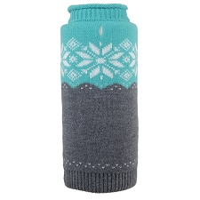 Ski Lodge Teal Roll Neck Sweater