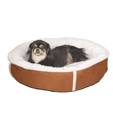 Sleepy Sherpa Donut Dog Bed