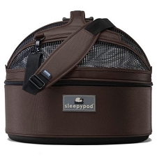 Sleepypod Original Dog Carrier - Dark Chocolate