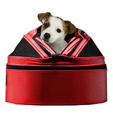 Sleepypod Original Dog Carrier - Strawberry Red