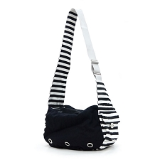 Soft Canvas Sling Carrier- Black