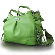 SoHo Collection Dog Carrier - Lime Green