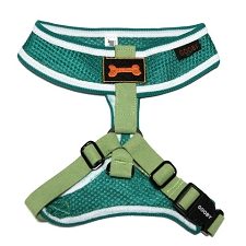 Sporty Mesh Dog Harness - Green