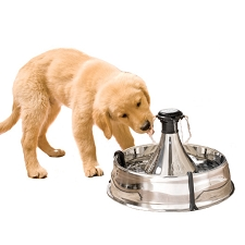 Stainless Steel Luxury Pet Water Fountain