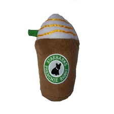 Starbarks Frappuccino Dog Toy