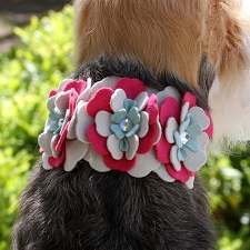Blossom Collar by Susan Lanci
