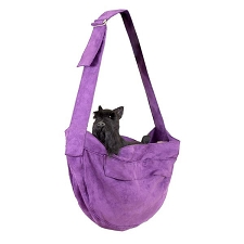 Cuddle Dog Carrier by Susan Lanci- Amethyst