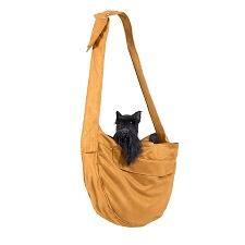 Cuddle Dog Carrier by Susan Lanci- Bronze