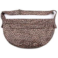 Cuddle Dog Carrier by Susan Lanci - Leopard Luxe Suede