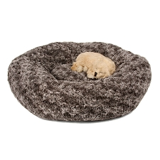 Susan Lanci Feather Dog Bed