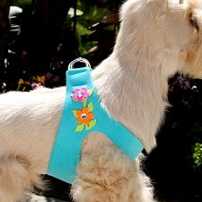 Secret Garden Crystal Step-In Dog Harness- 5 Colors
