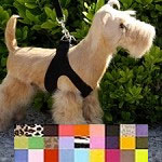 Simplicity Ultrasuede Step-In Dog Harness- 24 Colors