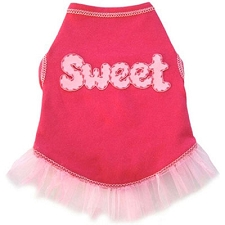 Sweet Pink Dog Tutu Dress