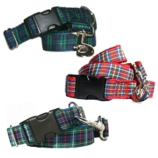 Tartan Hound Plaid Dog Collars