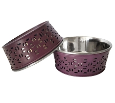 Bordeaux Dog Bowl Set