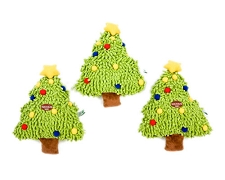 Christmas Tree Squeaky Mop Toy
