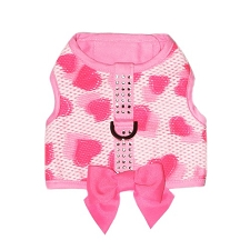 Ella Rhinestone Bow Harness