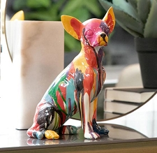 Graffiti Artist Chihuahua Sculpture