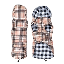 London Raincoat- Tan Plaid