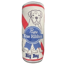 Pups Blue Ribbon Beer Toy