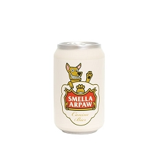 Smella Arpaw Silly Squeakers Beer Can Toy