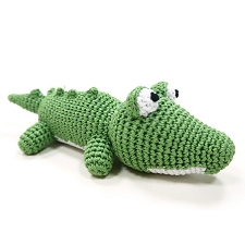 Alligator Cotton Dog Toy