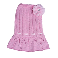 Casey Sweater Dress- Pink