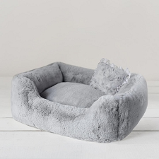 Divine Dog Bed- Dove Grey