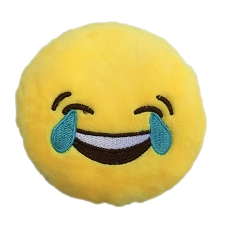 Crying Laughter Emoji Dog Toy