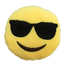 Cool Sunglasses Emoji Dog Toy