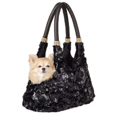 Grand Duchess Dog Carrier- Black