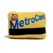 NYC MetroCard Dog Toy