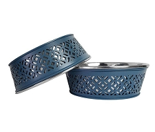 Santorini Dog Bowl Set