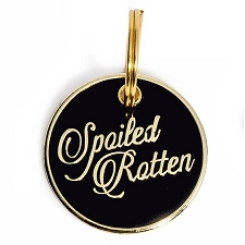 'Spoiled Rotten' Pet ID Tag