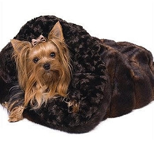 Cuddle Cup Dog Bed - Chocolate Sable
