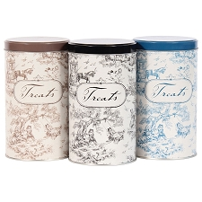 Toile Treat Tins by Harry Barker