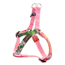 Tres Flores Oilcloth Dog Harness