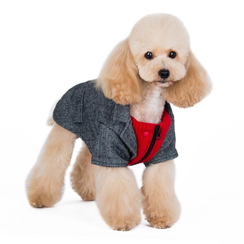 Tweed Dog Blazer Coat