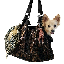Urbana Runaround Dog Carrier- Black Onyx