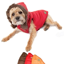 Vail Parka Hooded Dog Coat