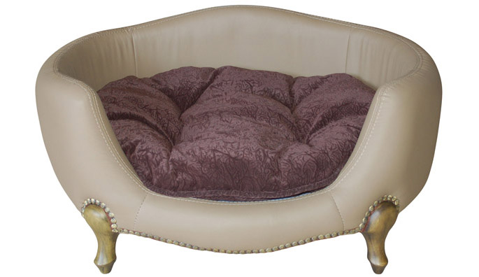 Vivienne Luxury Dog Bed : Small Dog Boutique at Glamourmutt.com