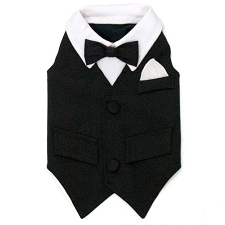 William Tux Dog Vest
