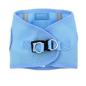 Choke Free Dog Harness- Light Blue