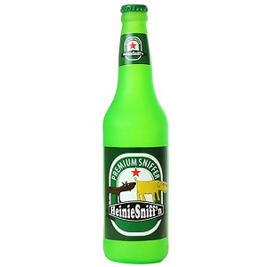 Heinie Sniffn Silly Squeakers Beer Toy